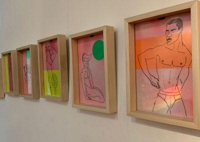 Muestra de arte de Juanpi Dona
