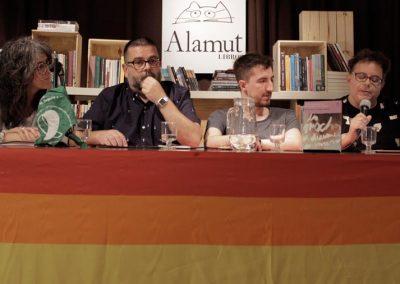 Dani Nandez, Gustavo Pecoraro, Rodolfo Omar Serio y Alejandro Modarelli