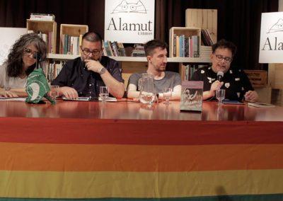 Alejandro Modarelli, lectura de Los machos se duermen primero