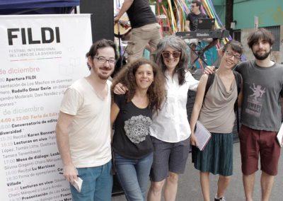 Santiago Kahn, Dafne Pidemunt, Dani Nandez, Natalia Ortíz Maldonado y Gonzalo Miranda