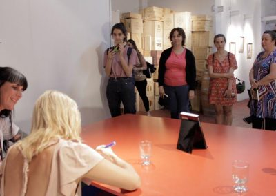Firma de Las malas - Camila Sosa Villada